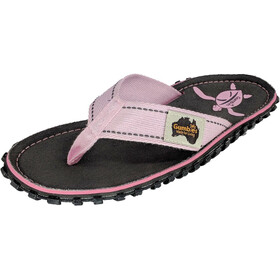 GUMBIES Islander Canvas Thongs turtle